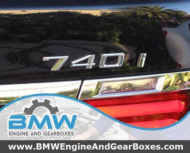 Buy BMW 740i Engines